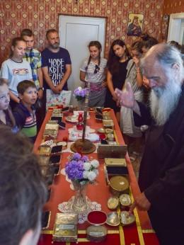 Свети мощи в манастира Св. Екатерина, Българево