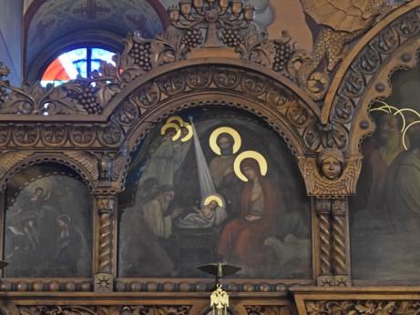 Рождество Христово, икона от празничния ред на иконостаса в храм Св. Николай Чудотворец