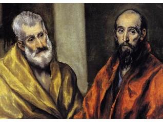 Светите апостоли Петър и Павел и благодатта свише