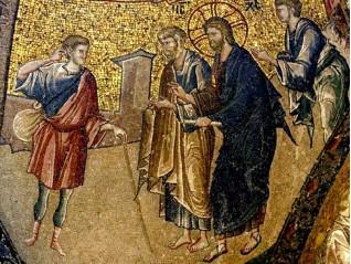 Изцелението на слепия Вартимей (Марк 10:46-52)