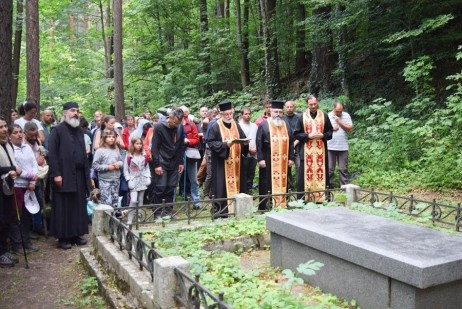 Акатист към св.Йоан при гроба на Джеймс Баучер