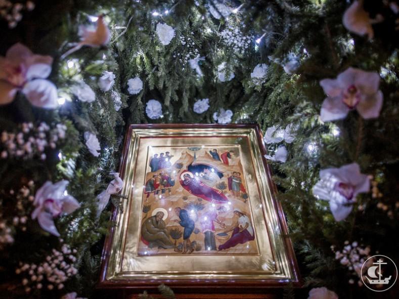 икона Рождество Христово, снимка - spbda.ru