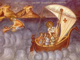 Когато светителят Николай хваща меча