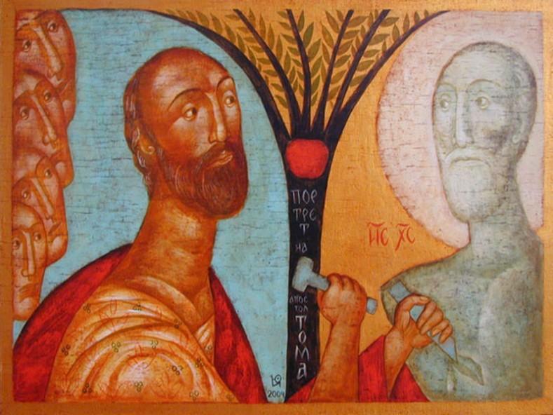 Портрет на апостол Тома - Юлия Станкова, 2004