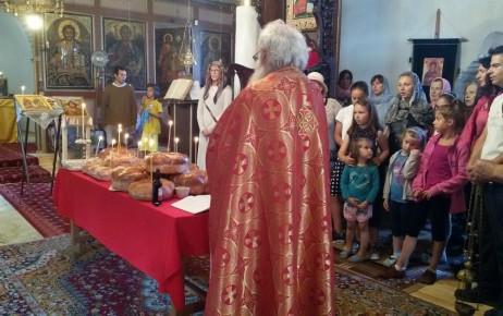 30 юни. Празнична вечерня в храм Св. Успение Богородично, Каварна
