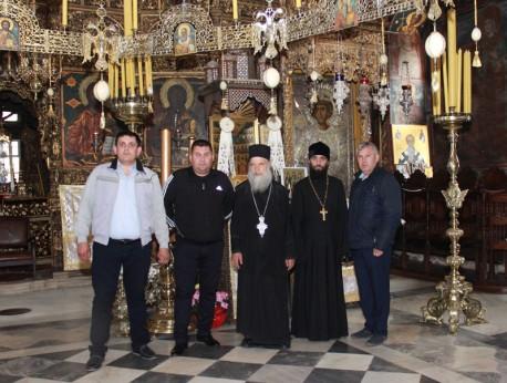 В Зографския манастир с дядо Амвросий