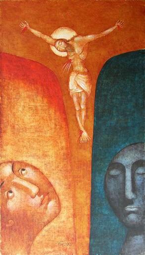 Юлия Станкова - Разпъването на Иисус