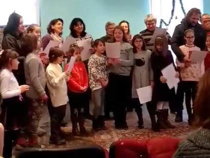 Празникът на Неделното училище - хор Витлеемска звезда