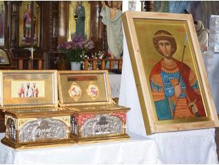 Икона на св. Георги за празника на град Тараклия