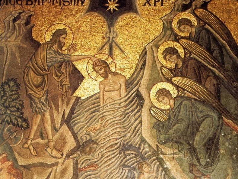 Мозайка от катедралата Сан Марко, фрагмент, XIII век, Венеция
