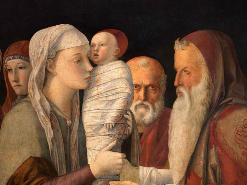 Сретение Господне. Джовани Белини, 1460 г. Венеция, галерия  Кверини Стампалья (Fondazione Querini Stampalia)