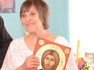 """Леля Таня разказва за иконата """"Успение Богородично"""" в храм """"Св. Николай"""""""
