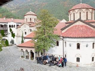 Младежко поклонническо пътуване до Бачковския манастир