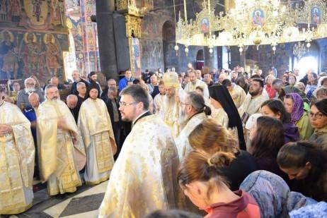 Преображение - Архиерейска света литургия