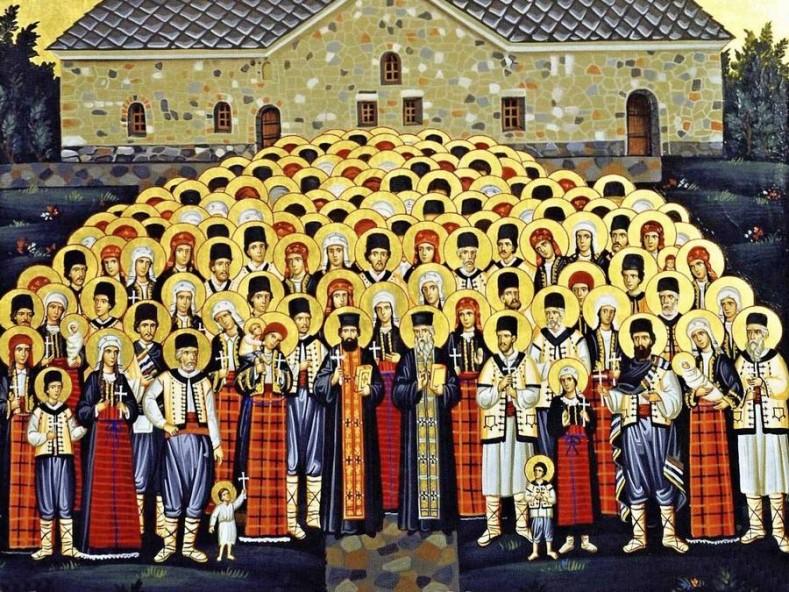 Св. Баташки мъченици (фрагмент), източник: svparaskeva.com