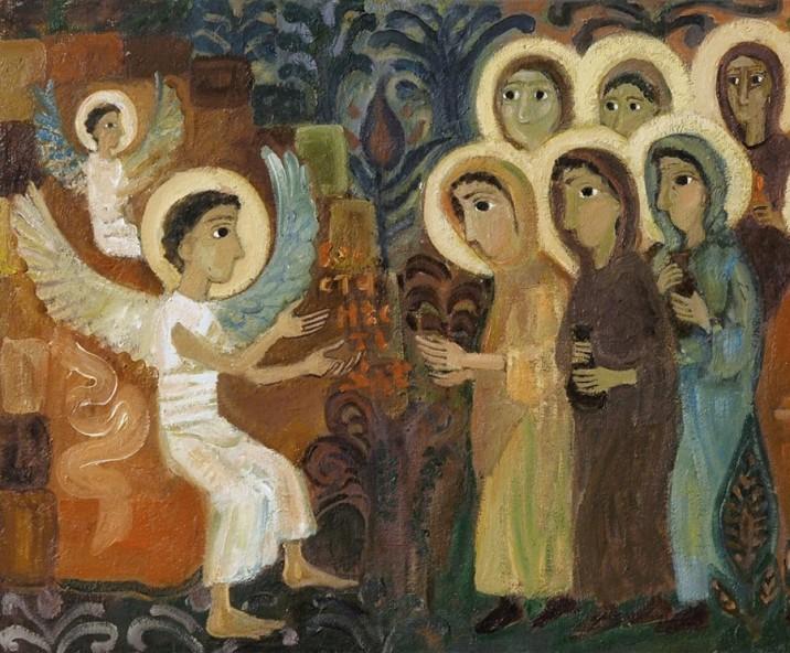 Възкресение (фрагмент), 2017 г. Художник: Елена Черкасова