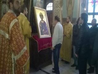 Молебен пред иконата на св. Георги за Бесарабия