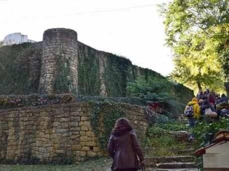 Велики Преслав, крепостта на външния град, с манастирския комплекс около Кръглата църква