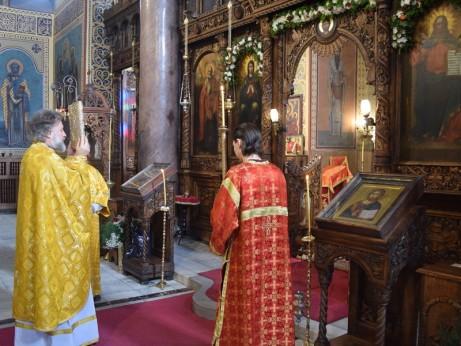 24 декември, Вечерня с Василиева света литургия