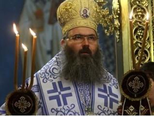Архиерейска Пасхална св. литургия в храм Св. Николай и освещаване на икона на св. Георги Победоносец
