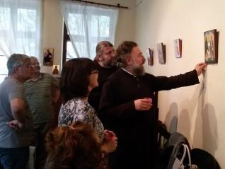 Годишна изложба на Школата по иконопис