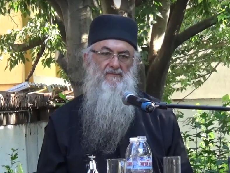 Архимандрит Захариас (Захару) при гостуването му във Варна на Седмицата на православната книга - 2017