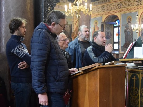 Хор за източно църковно пеене с ръководител Мартин Димитров, 24 декември