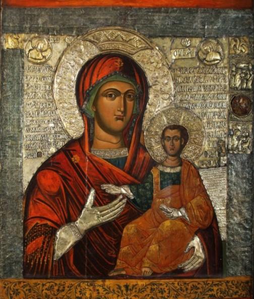 Оригиналната икона от 14 в., съхранява се в Археологическия музей в София