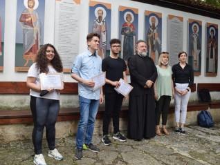 Победителите в конкурса бяха наградени в навечерието на празника на св. Прокопий Варненски