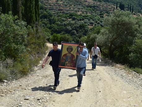 Шествие до манастира