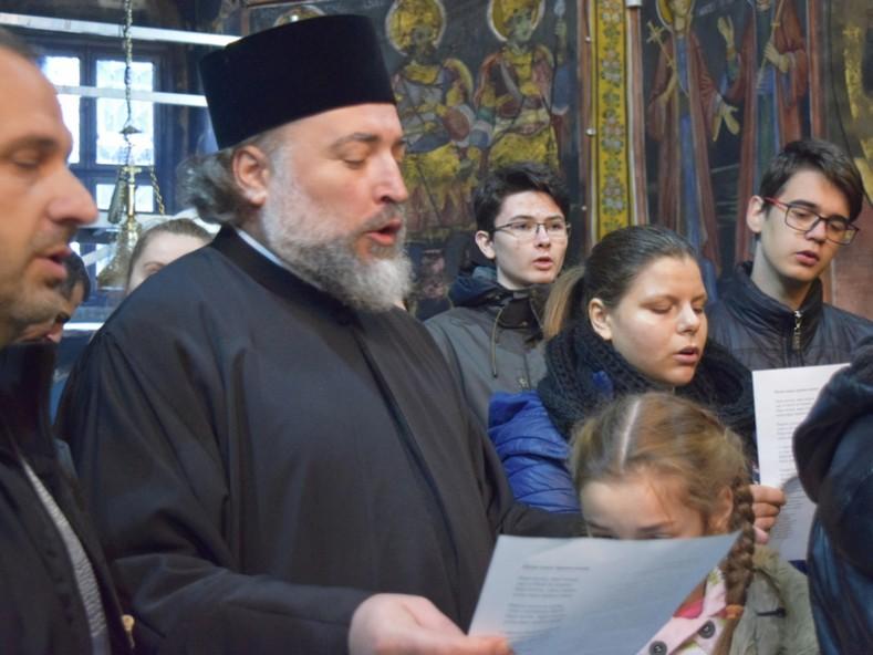 Поздрав за рождения ден на епископ Сионий