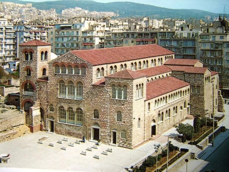 Храм Св. Димитър в Солун