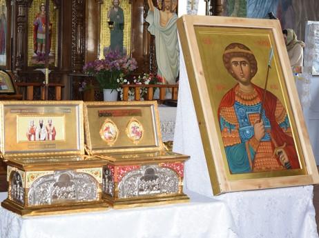 Храм Св. Георги в Тараклия има нова икона