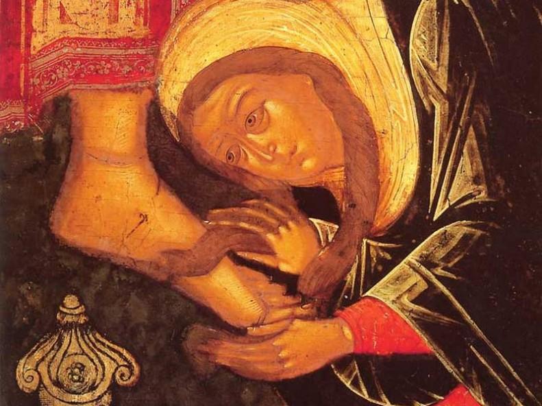 Помазание Христово (teotokos.ru)