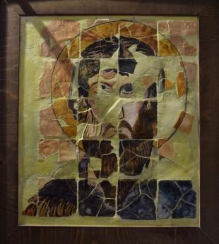 Керамична икона на св. Теодор Стратилат, 9-10 в.