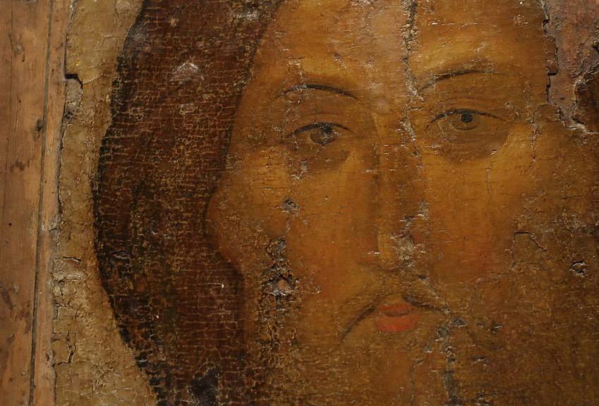 Иисус Христос - фрагмент, Андрей Рубльов