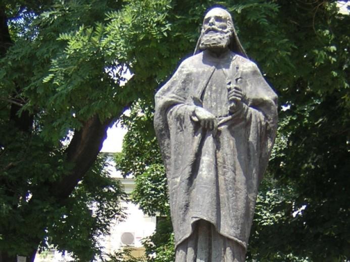 Паметникът на св.патриарх Евтимий в София